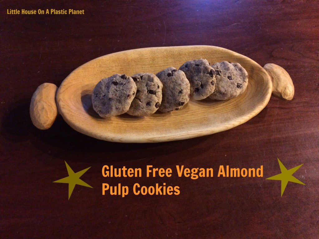 Almond Pulp Chocolate Chip Cookies - Gluten Free, Egg Free, Dairy Free