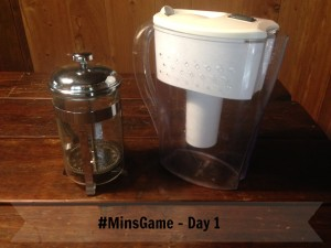 Minimalist Game: Day 1 & 2
