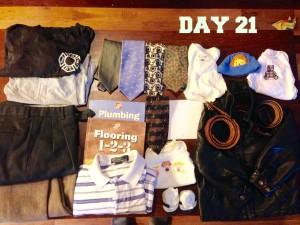 The Minimalist Game - Day 21 Boys