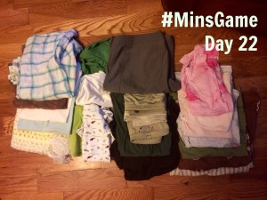The Minimalist Game - Day 22 Girls
