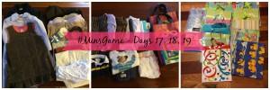 Minimalist Game – Days 17, 18, 19