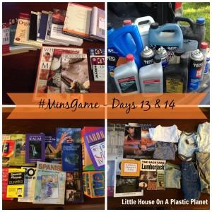 Minimalist Game: Days 13 & 14