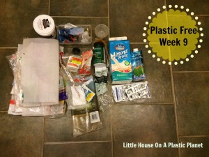 Show Your Plastic Challenge: Plastic Free Week 9