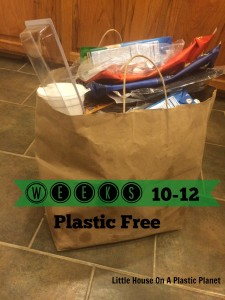 Show Your Plastic Challenge: Plastic Free Weeks 10-12