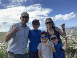 My family in Hawaii